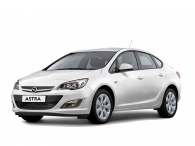 Rent a car Beograd | Opel Astra Sedan automatic | Max